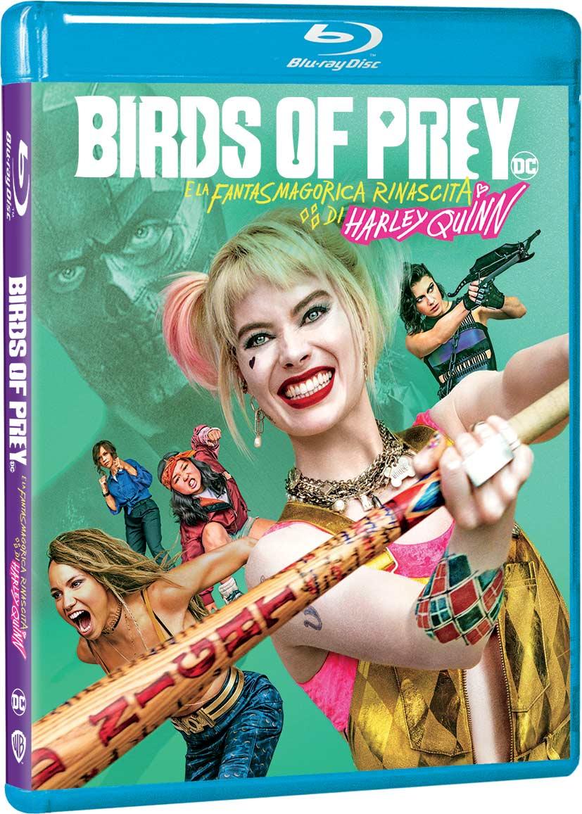 BIRDS OF PREY E LA FANTASMAGORICA RINASCITA DI HARLEY QUINN - BL