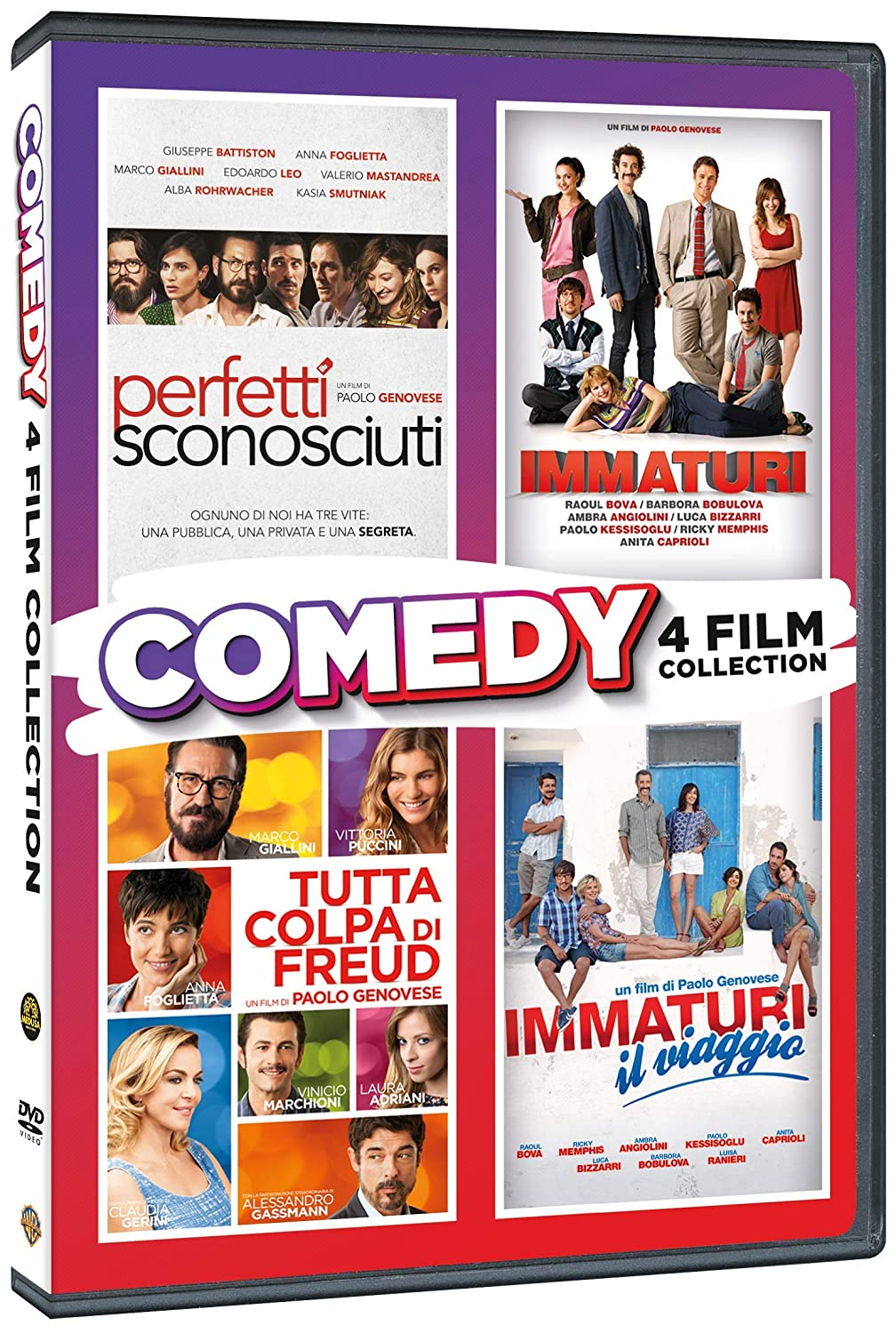 COF.PAOLO GENOVESE COMEDY COLLECTION (4 DVD) (DVD)