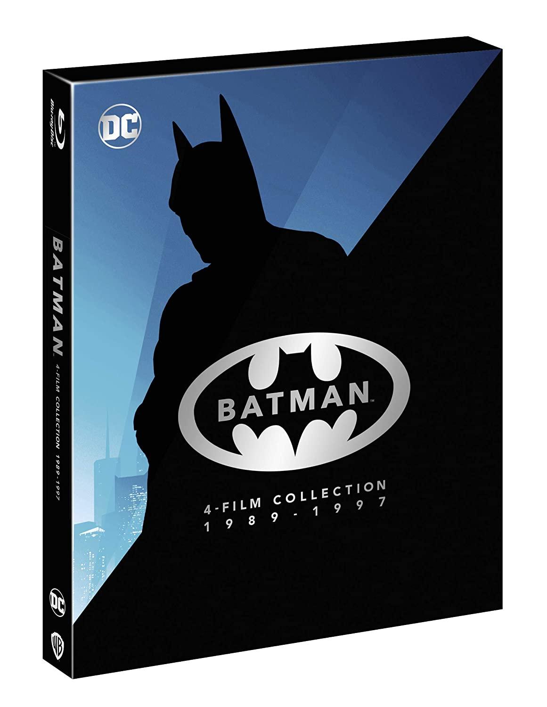 COF.BATMAN ANTHOLOGY 1989-1997 (4 BLU-RAY)