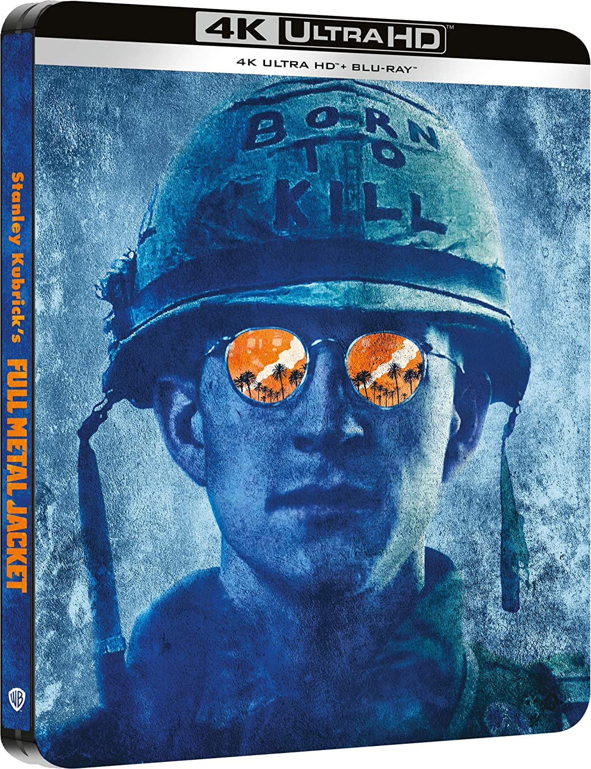 FULL METAL JACKET (STEELBOOK) (4K ULTRA HD + BLU-RAY)