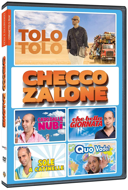 COF.CHECCO ZALONE COFANETTO 5 FILM (5 DVD) (DVD)