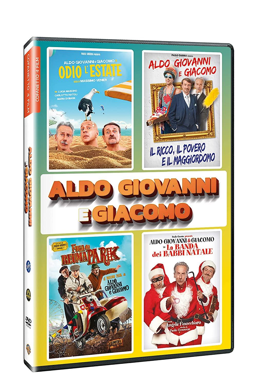 COF.ALDO GIOVANNI E GIACOMO 4 FILM COLLECTION (4 DVD) (DVD)