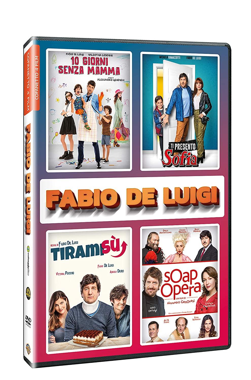 COF.FABIO DE LUIGI 4 FILM COLLECTION (4 DVD) (DVD)