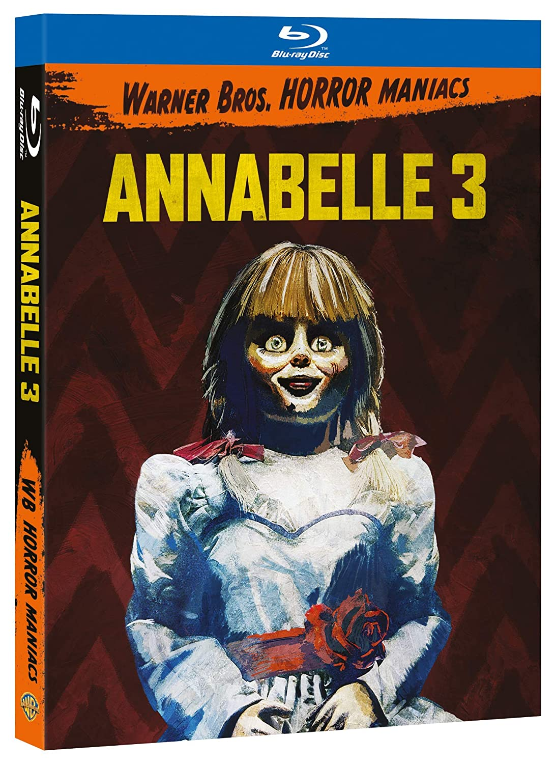ANNABELLE 3 (HORROR MANIACS COLLECTION) - BLU RAY