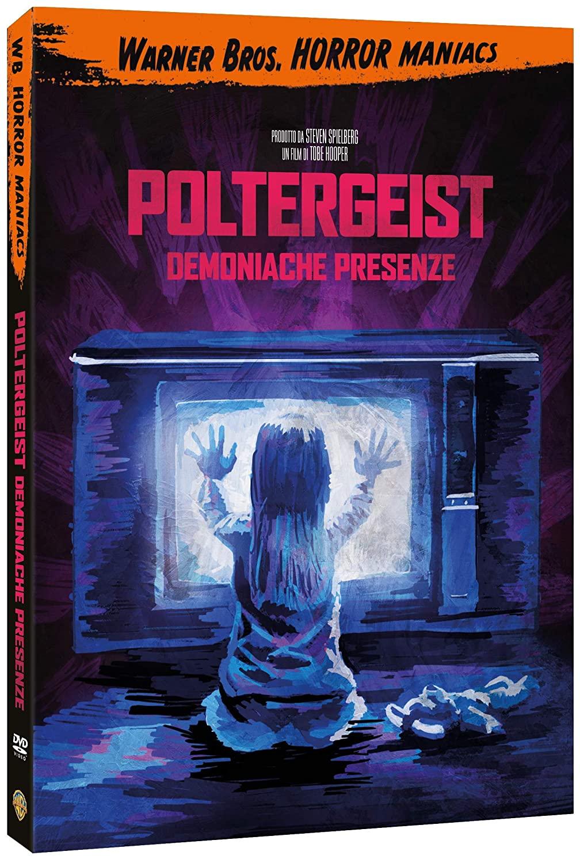 POLTERGEIST - DEMONIACHE PRESENZE (HORROR MANIACS COLLECTION) (D