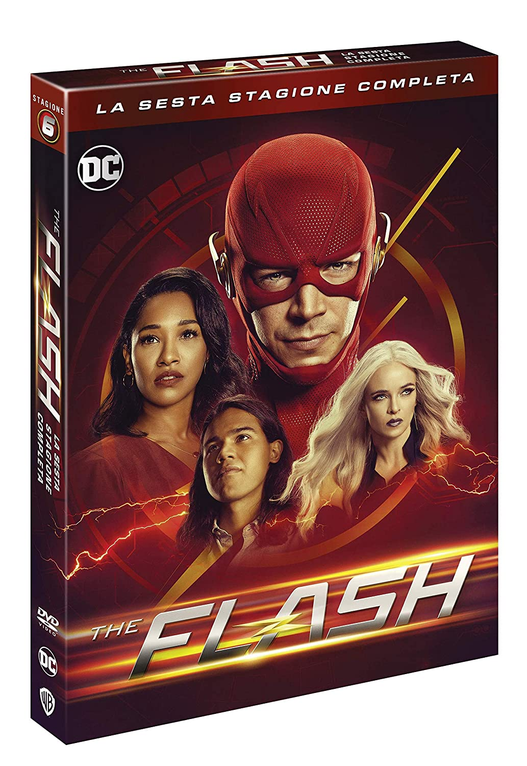 COF.THE FLASH - STAGIONE 06 (4 DVD) (DVD)