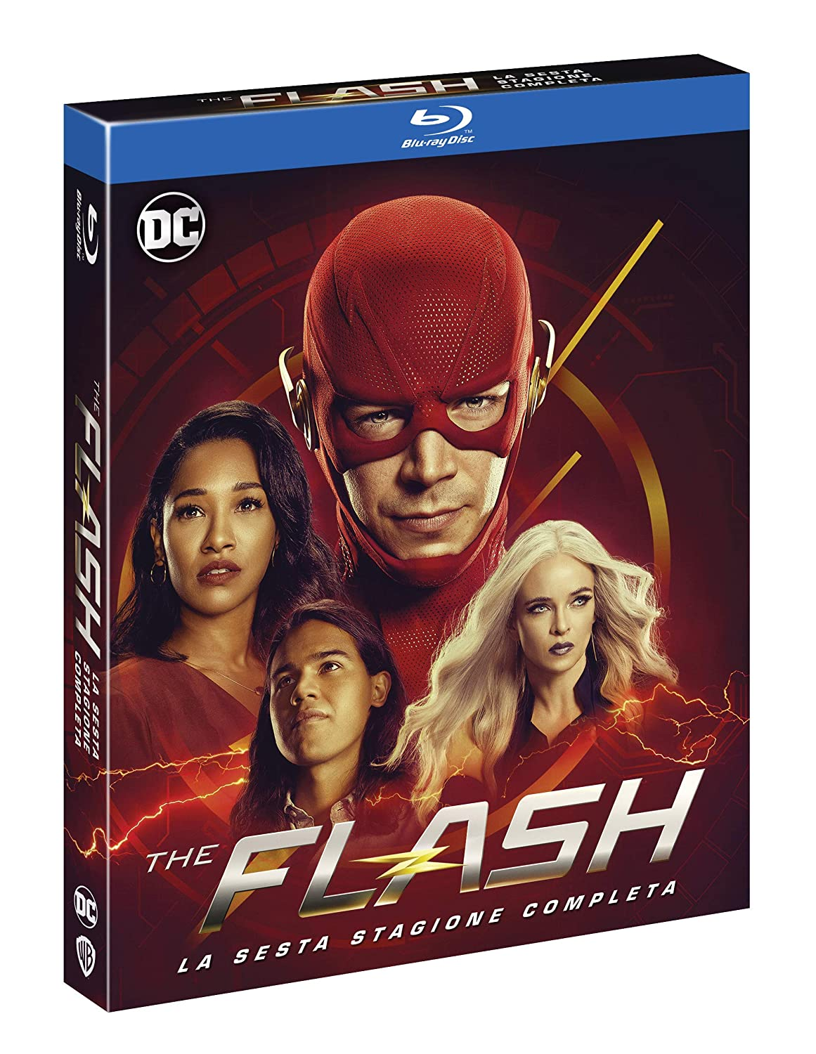 COF.THE FLASH - STAGIONE 06 (4 BLU-RAY)