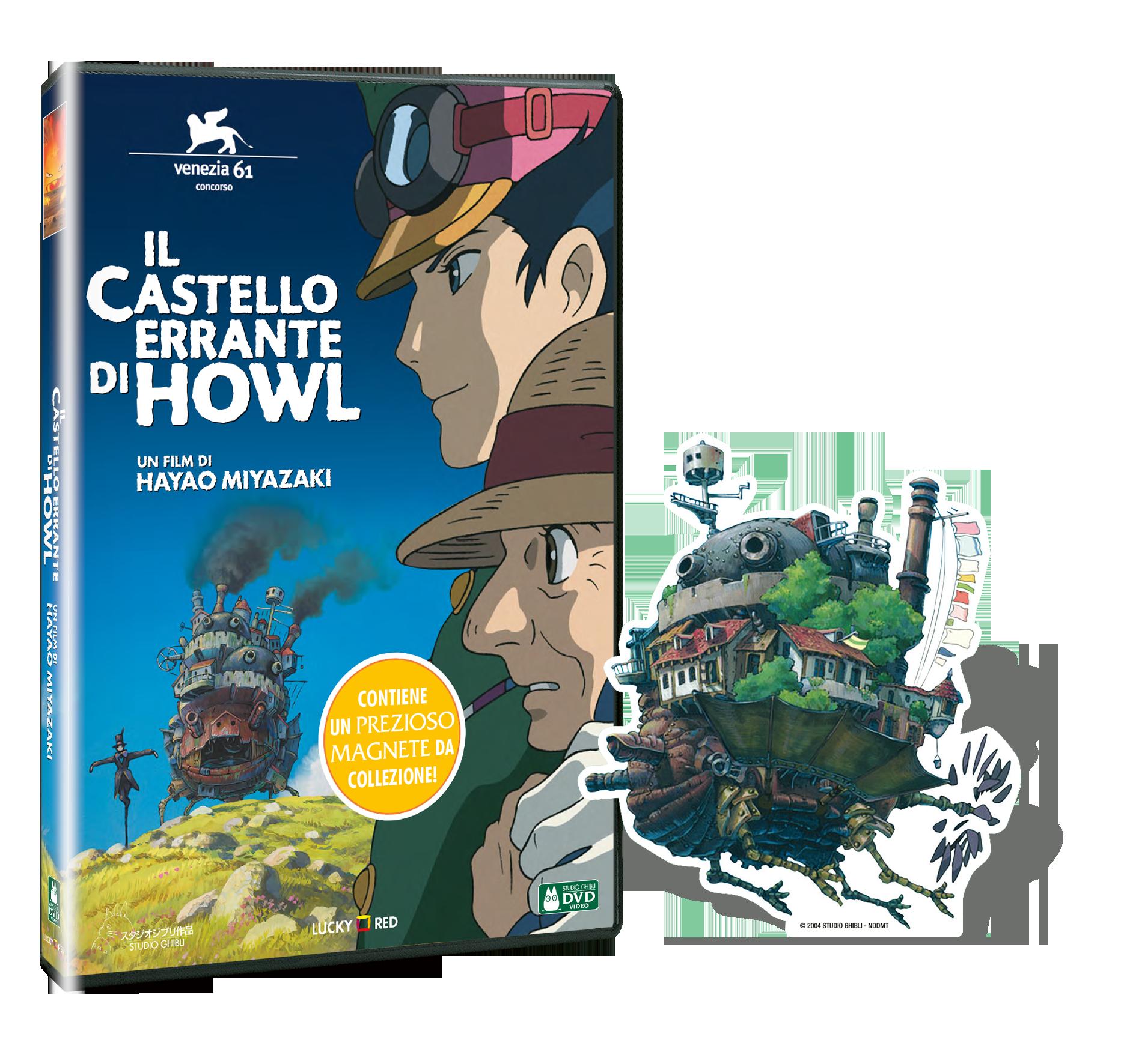 IL CASTELLO ERRANTE DI HOWL (DVD+MAGNETE) (DVD)