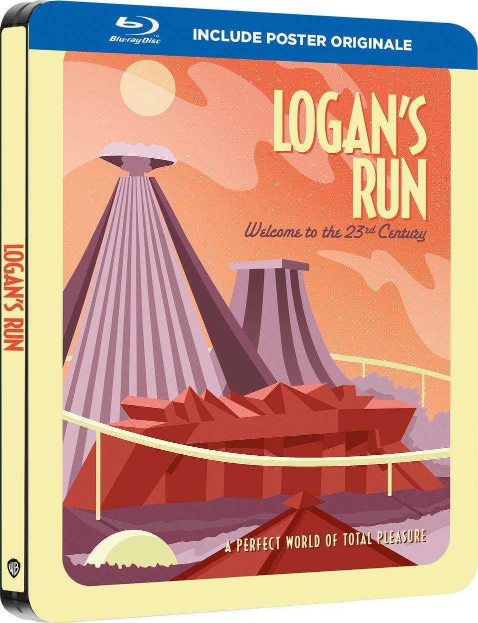 LA FUGA DI LOGAN (STEELBOOK) - BLU RAY