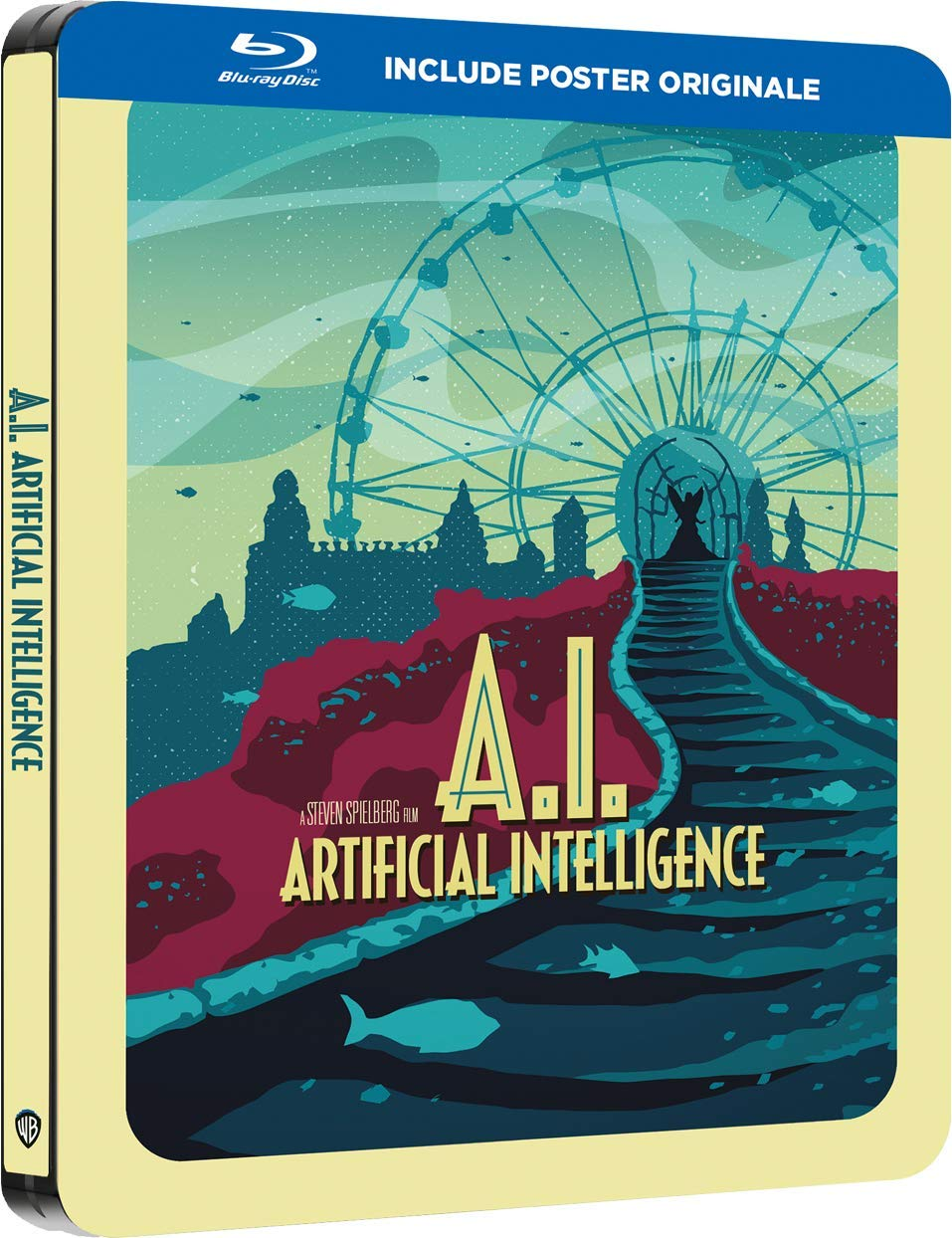 A.I. - INTELLIGENZA ARTIFICIALE (STEELBOOK) - BLU RAY