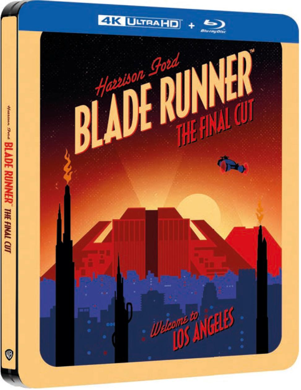 BLADE RUNNER - FINAL CUT (STEELBOOK) (4K ULTRA HD + BLU-RAY)