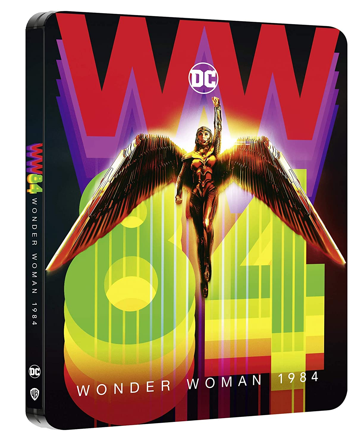 WONDER WOMAN 1984 STEELBOOK (4K ULTRA HD + BLU RAY)