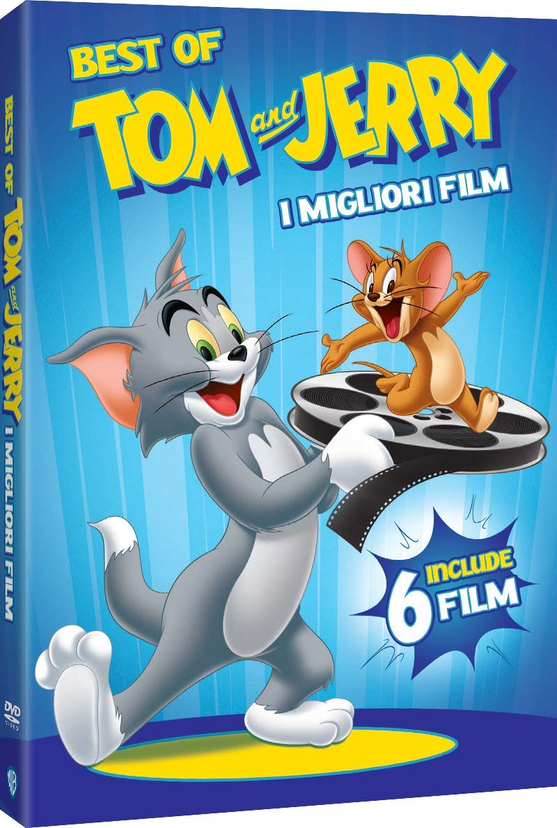 COF.TOM & JERRY - BEST OF MOVIES (6 DVD) (DVD)