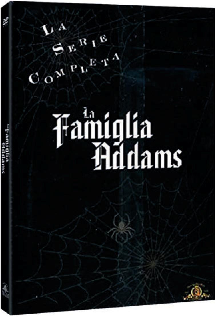 COF.LA FAMIGLIA ADDAMS - LA SERIE COMPLETA (9 DVD) (DVD)