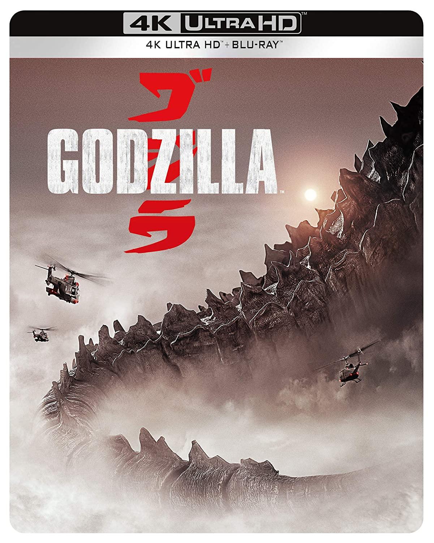 GODZILLA (2014) (STEELBOOK) (4K ULTRA HD+BLU RAY)