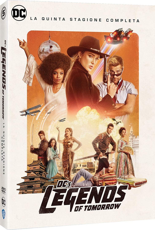 COF.DC'S LEGENDS OF TOMORROW - STAGIONE 05 (3 DVD) (DVD)