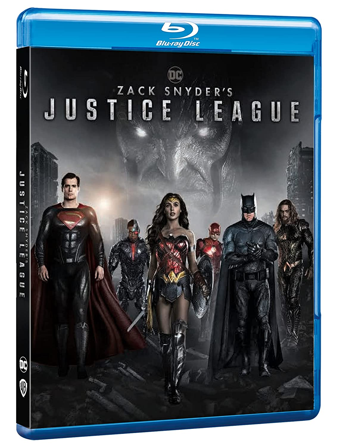 ZACK SNYDER'S JUSTICE LEAGUE - BLU RAY
