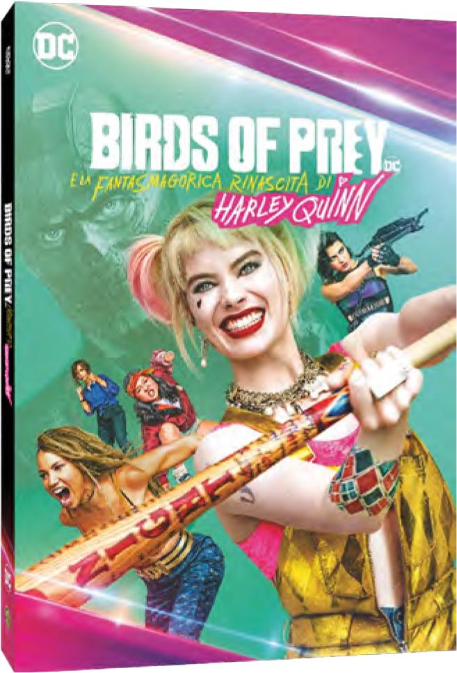 BIRDS OF PREY E LA FANTASMAGORICA RINASCITA DI HARLEY QUINN (DVD