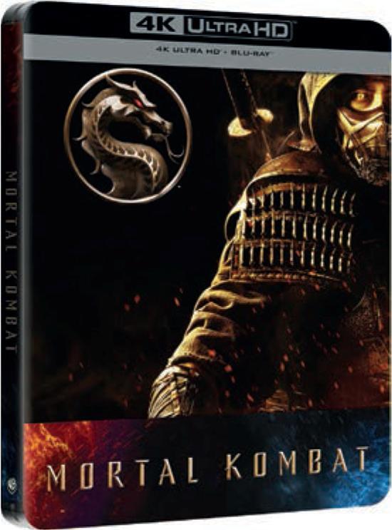MORTAL KOMBAT (STEELBOOK) (4K ULTRA HD + BLU RAY)