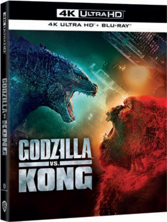 GODZILLA VS KONG (4K ULTRA HD + BLU RAY)