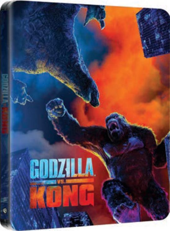GODZILLA VS KONG (STEELBOOK) (4K ULTRA HD + BLU RAY)