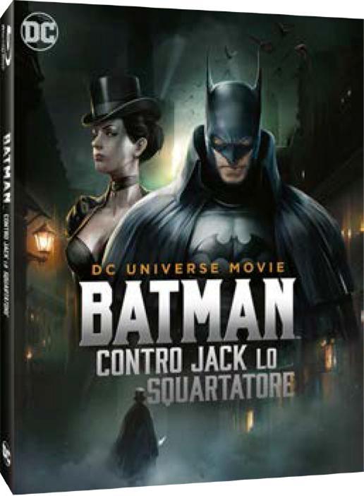 BATMAN CONTRO JACK LO SQUARTATORE - BLU RAY