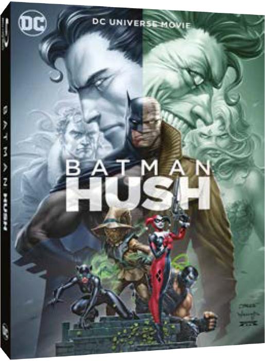 BATMAN HUSH- BLU RAY