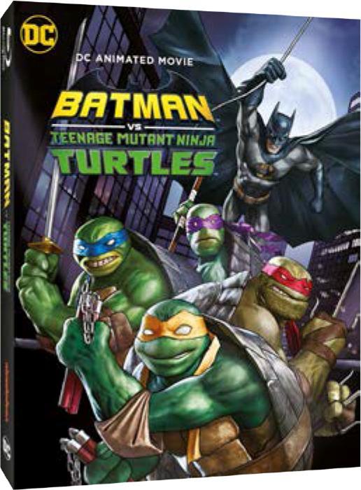 BATMAN VS TEENAGE MUTANT NINJA TURTLES - BLU RAY