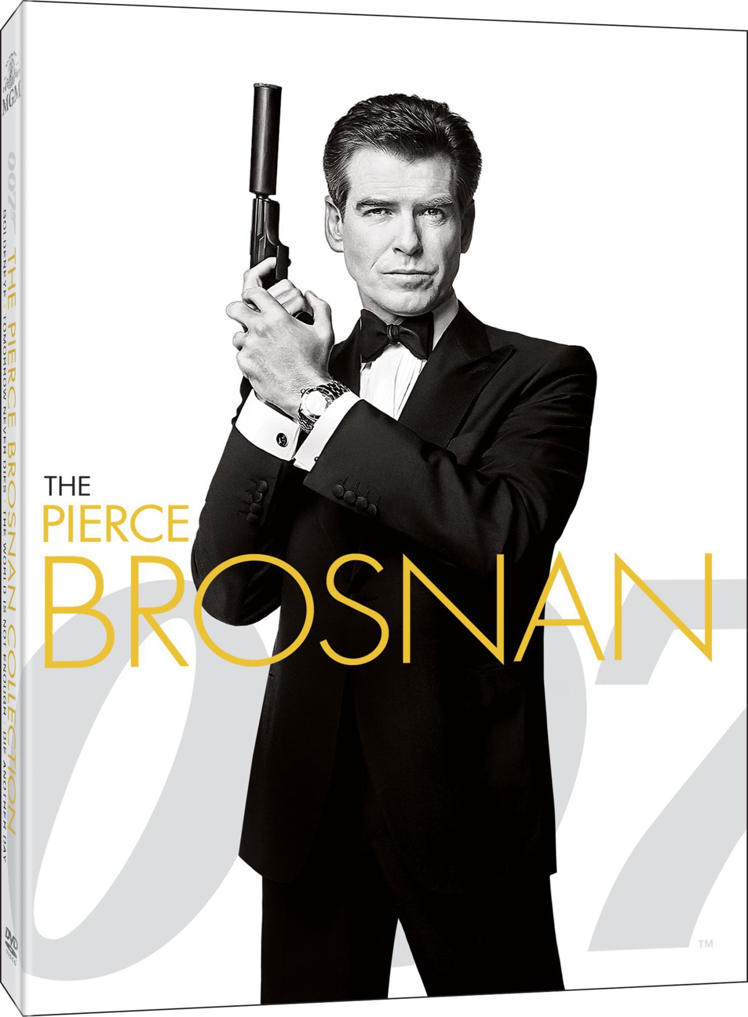 COF.007 JAMES BOND PIERCE BROSNAN COLLECTION (4 DVD) (DVD)