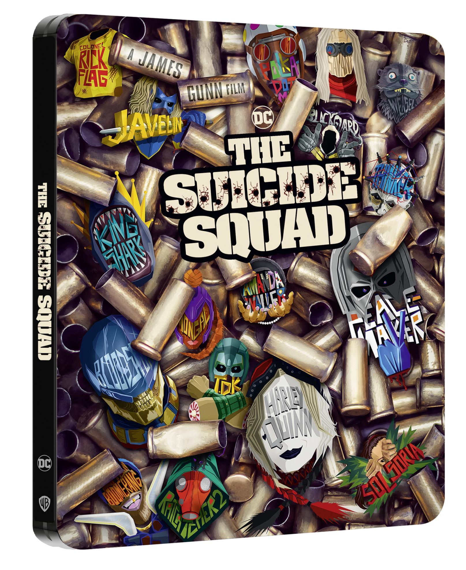 THE SUICIDE SQUAD - MISSIONE SUICIDA (STEELBOOK) (BLU-RAY 4K ULT