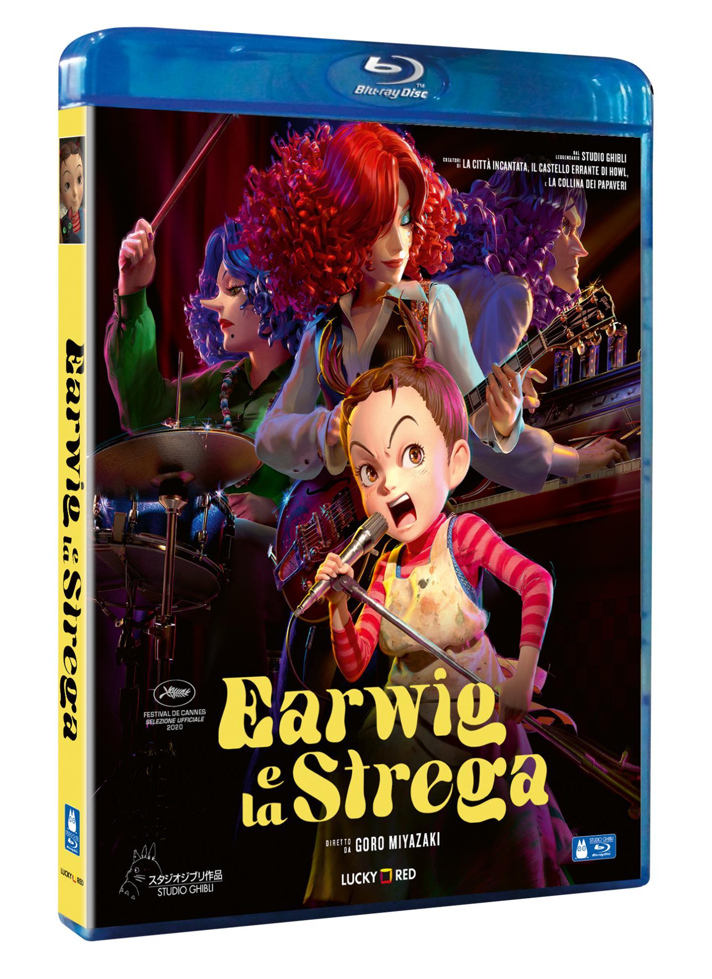 EARWIG E LA STREGA - BLU RAY