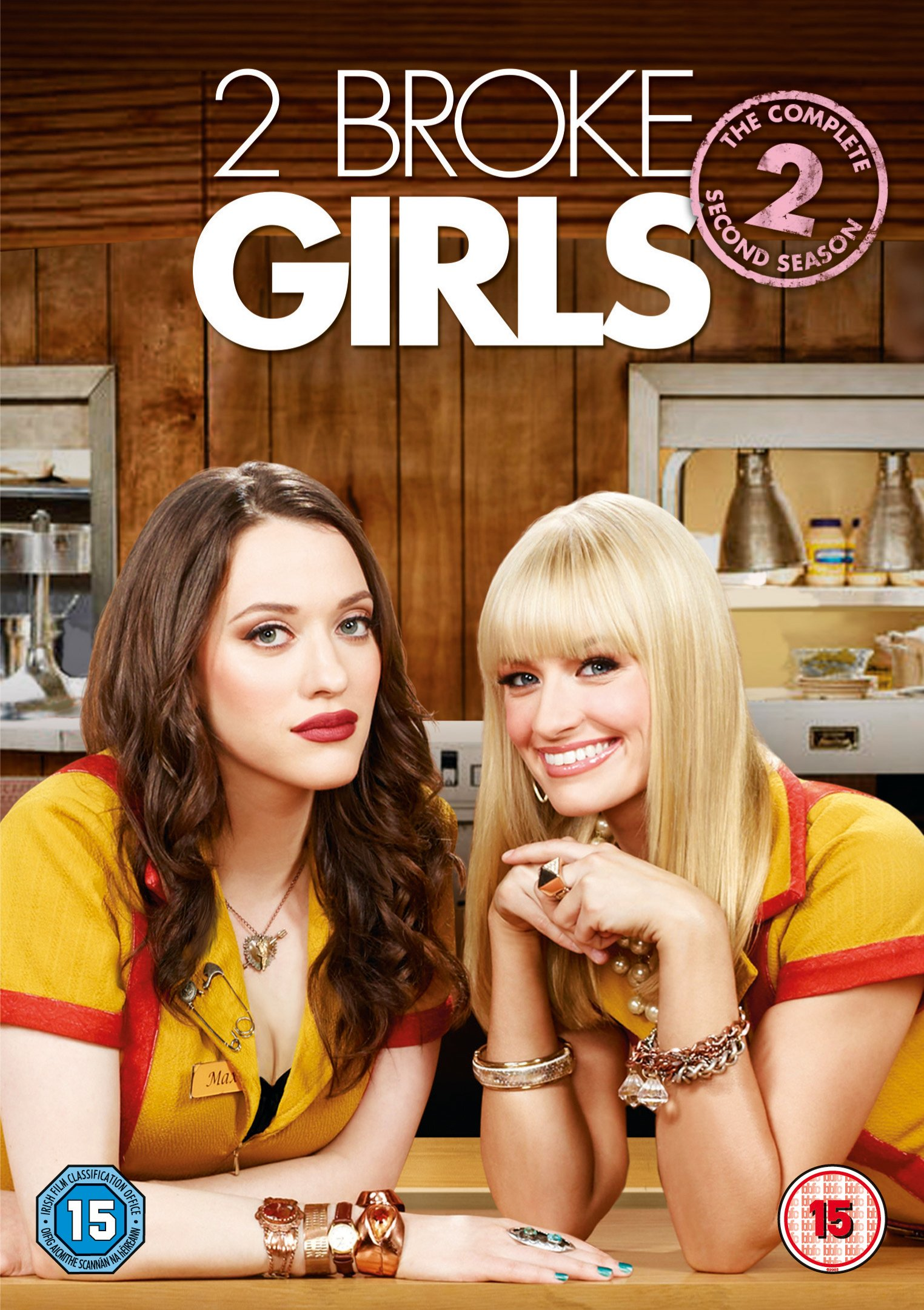 COF.2 BROKE GIRLS: SEASON 2 [EDIZIONE: REGNO UNITO] (DVD)