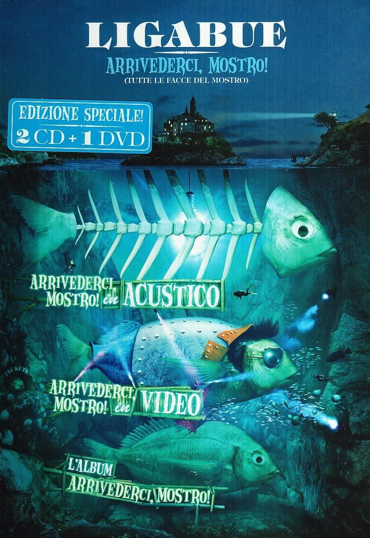 LIGABUE - ARRIVEDERCI, MOSTRO! CD+DVD (DVD)
