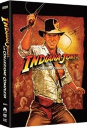 COF.INDIANA JONES QUADRILOGIA (5 DVD) (DVD)