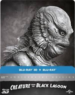 IL MOSTRO DELLA LAGUNA NERA / CREATURE FROM THE BLACK LAGOON (STEEL BOOK) (BLU-RAY 3D) (IMPORT)