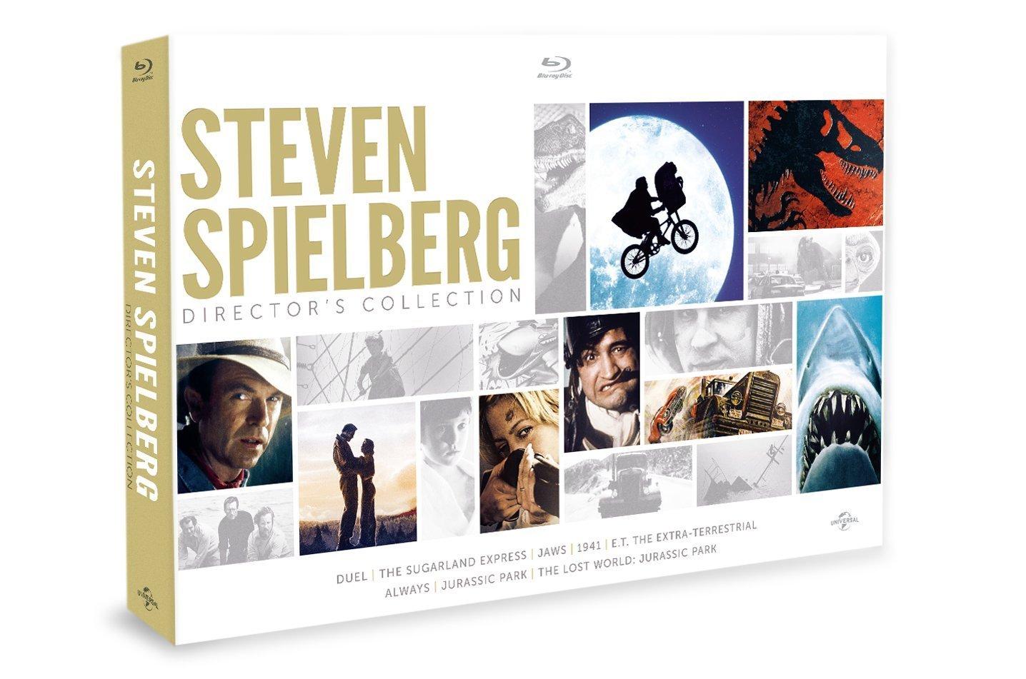 COF.STEVEN SPIELBERG COLLECTION (8 BLU-RAY)