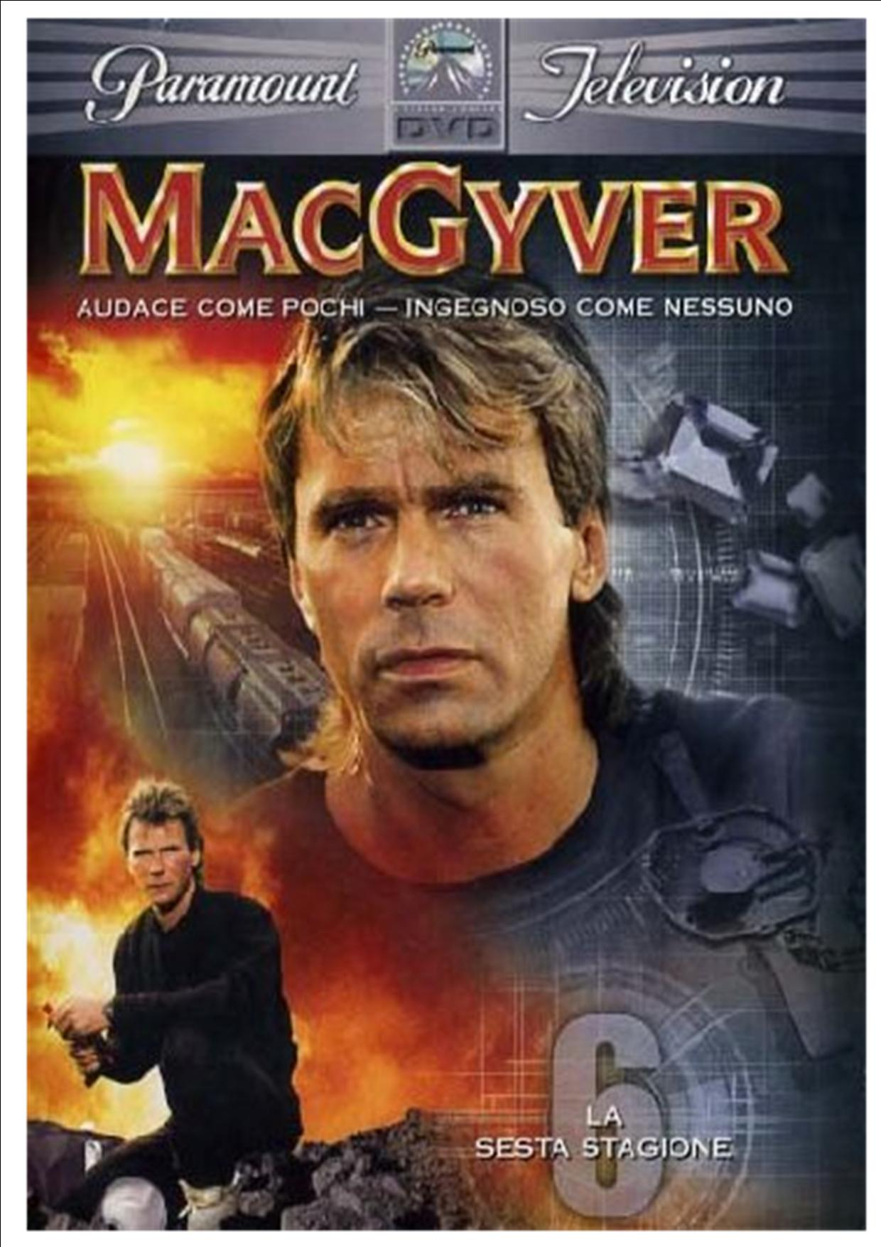 COF.MACGYVER - STAG.06 (6DVD) (DVD)