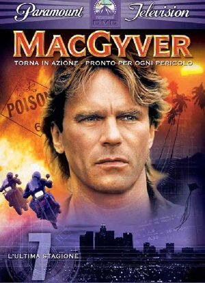 COF.MACGYVER - STAG.07 (4 DVD) (DVD)
