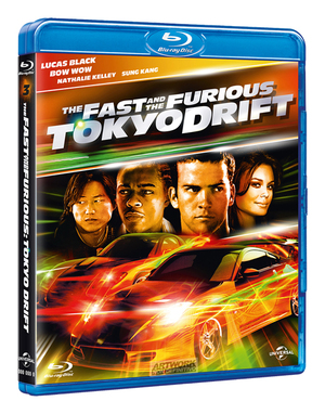 THE FAST AND THE FURIOUS - TOKYO DRIFT (BLU RAY)