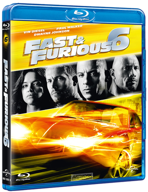 FAST AND FURIOUS 6 (BLU RAY) (NEW VERSION)
