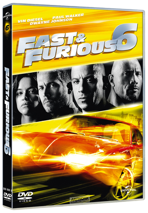 FAST AND FURIOUS 6 (NEW VERSION) (DVD)