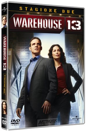 COF.WAREHOUSE 13 - STAGIONE 02 (4 DVD) (DVD)