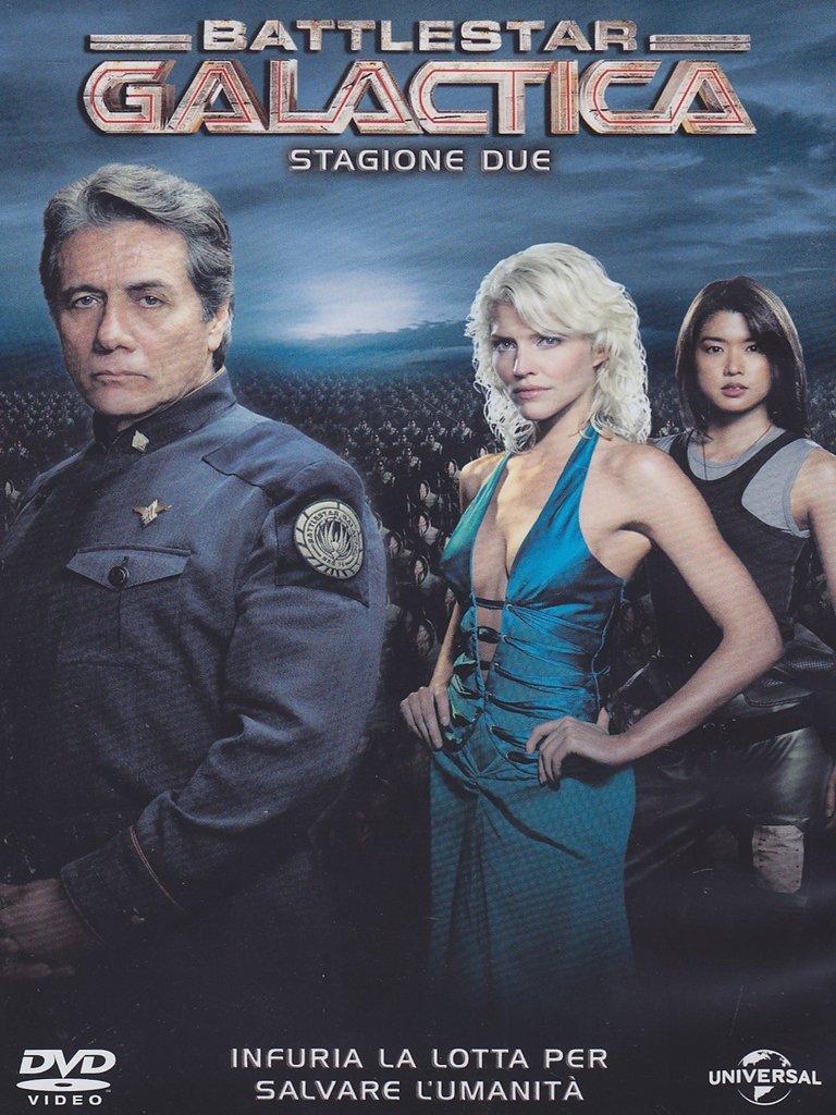COF.BATTLESTAR GALACTICA - STAGIONE 02 (6 DVD) (DVD)