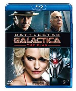 BATTLESTAR GALACTICA - THE PLAN (BLU RAY)