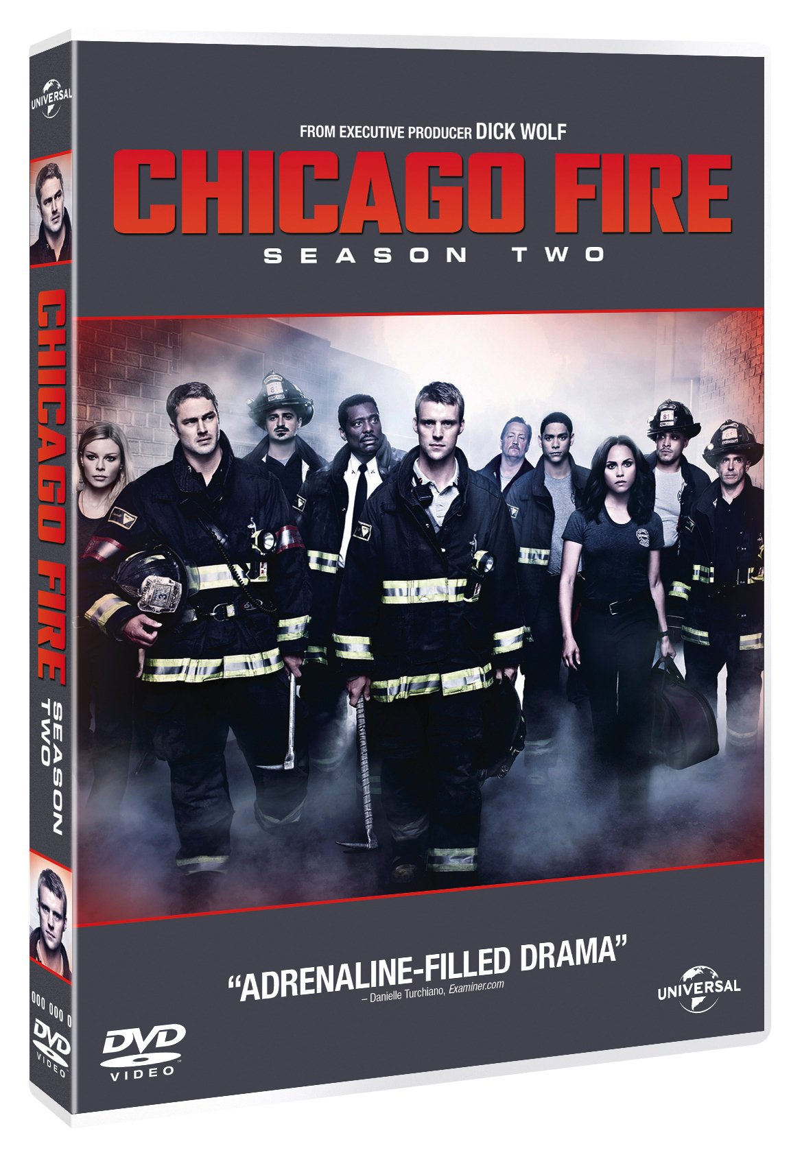 COF.CHICAGO FIRE - STAGIONE 02 (6 DVD) (DVD)