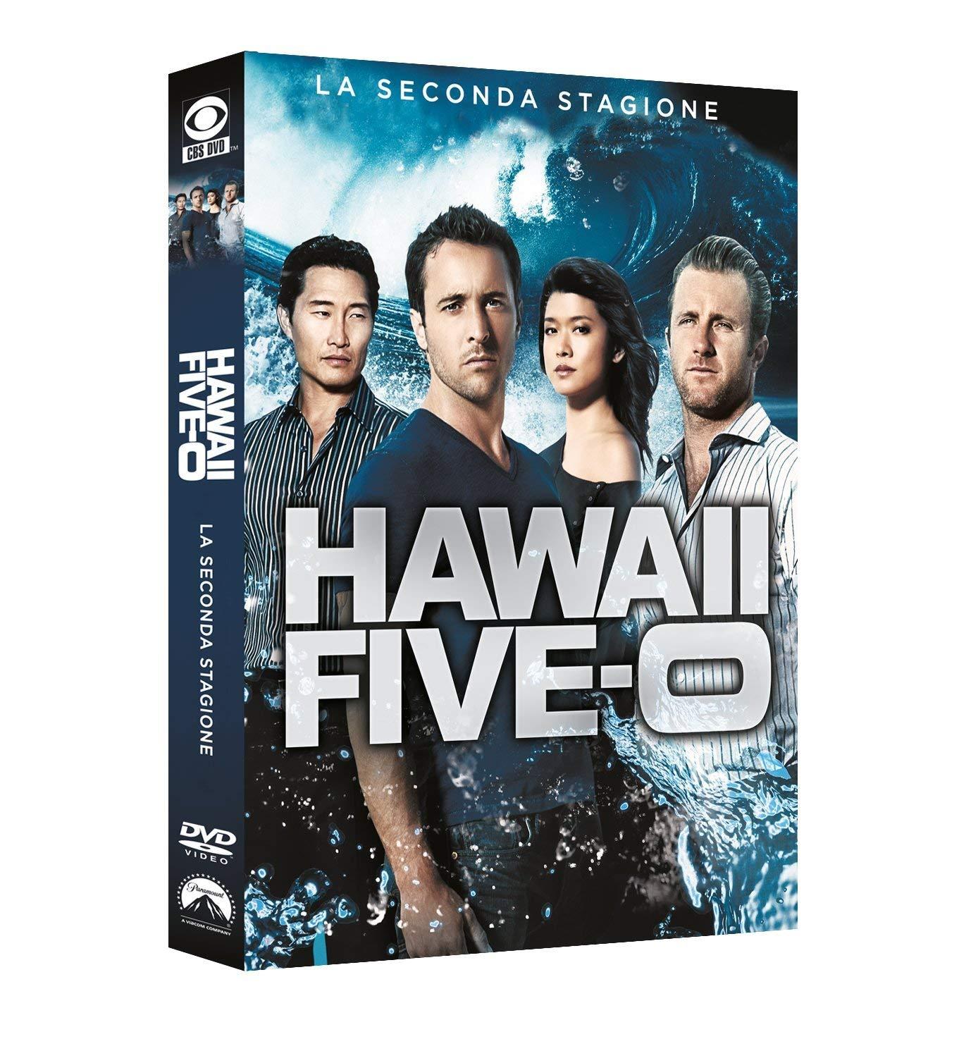 COF.HAWAII FIVE-O - STAG.02 (6 DVD) (DVD)