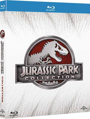 COF.JURASSIC PARK COLLECTION (4 BLU-RAY)