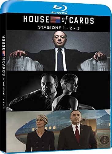 COF.HOUSE OF CARDS - STAGIONE 01-03 (12 BR)