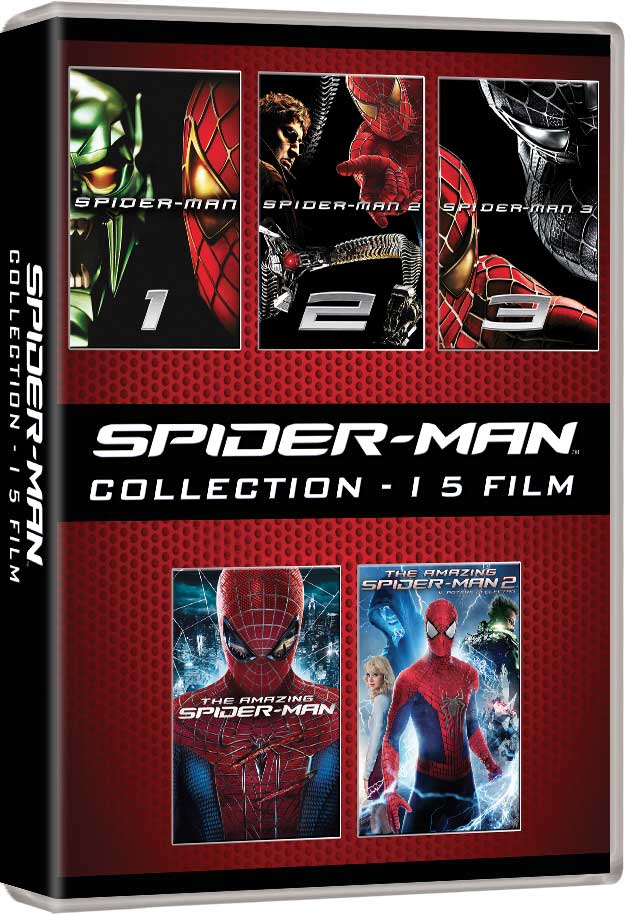 COF.SPIDER-MAN COLLECTION (5 DVD) (DVD)