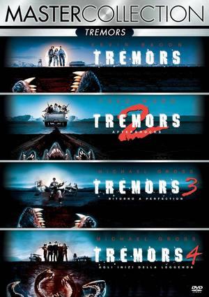 COF.TREMORS QUADRILOGIA (4 DVD) (DVD)